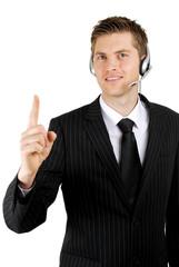 Business communications operator