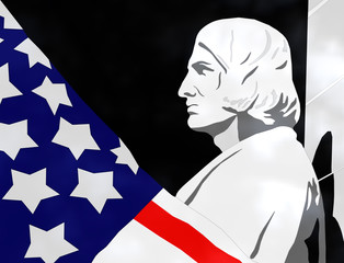 Columbus Day - 3D Illustration