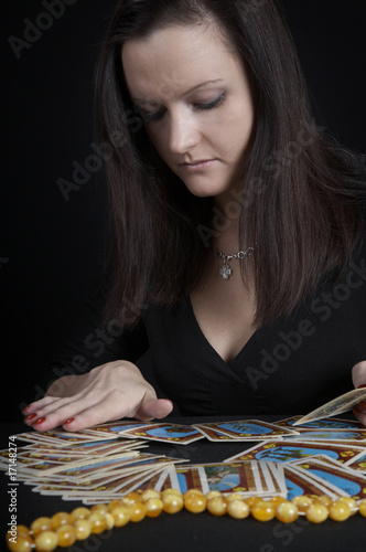 The woman fortuneteller