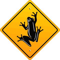 schild frosch
