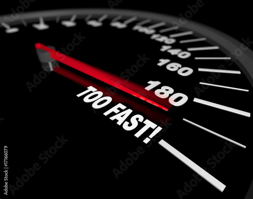 Speedometer - Going Too Fast