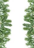 Fototapety Christmas framework with snow