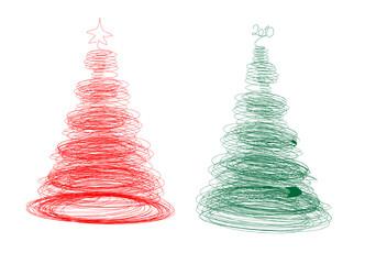Tangle Christmas tree