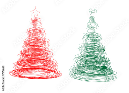 Tangle Christmas tree