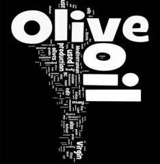 Olive Oil word cloud