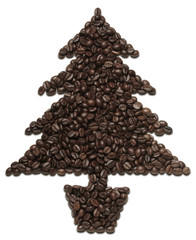 coffee Christmas tree