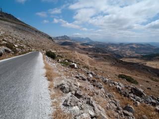 Route et montagne du parc naturel du Torcal