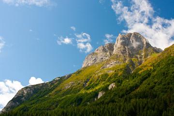 Carinthian mountain on border to Italy (Austria)