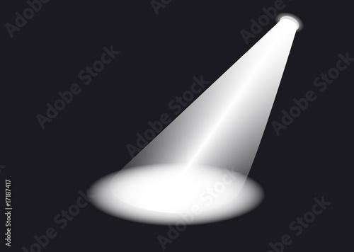 Foto op Plexiglas Licht, schaduw Scheinwerfer