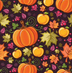 Harvest Seamless Pattern