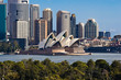 Leinwanddruck Bild - Sydney Opera House and Skyline