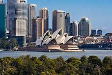 """Постер, картина, фотообои """"Sydney Opera House and Skyline"""""""