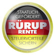 rürup rente rürup-rente altersvorsorge button icon private