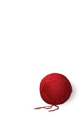 Gomitolo di lana rosso (RAL 3027)