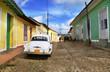 Car in Trinidad street, cuba