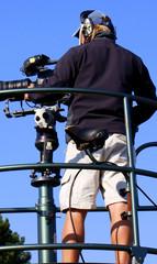 Cameraman de la télévision