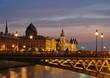 Paris - La conciergerie au crépuscule