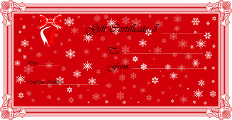 Gift Certificate .