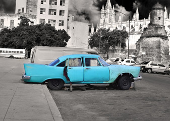 Old Havana car