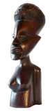 African traditional nude woman statuette design and elegant