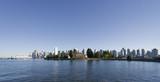 Panorama of Vancouver, British Columbia, Canada poster