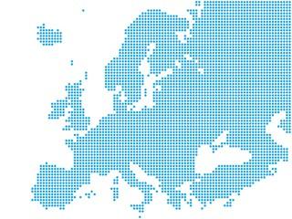 Europa - Blue Dots