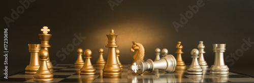 Leinwanddruck Bild Chess