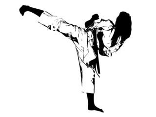 Kickboxing - leg strike
