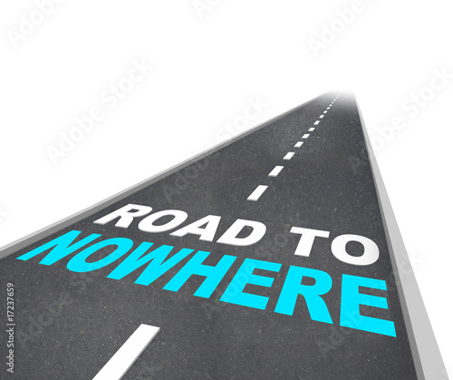 Road to Nowhere - Words on Freeway
