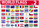 World Flags | Ultimate Collection | 287 flags | Volume 2 poster