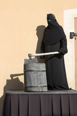 The executioner with an axe