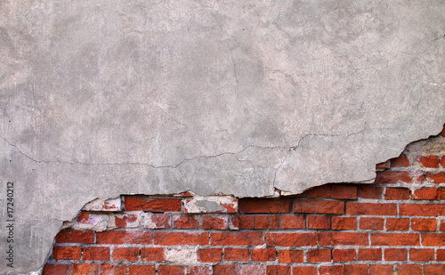 Leinwanddruck Bild Mauer