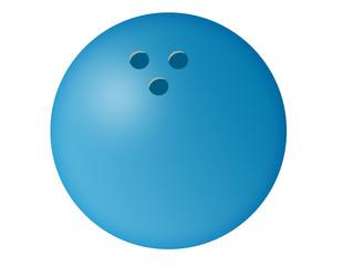 Bowling Ball Illustration