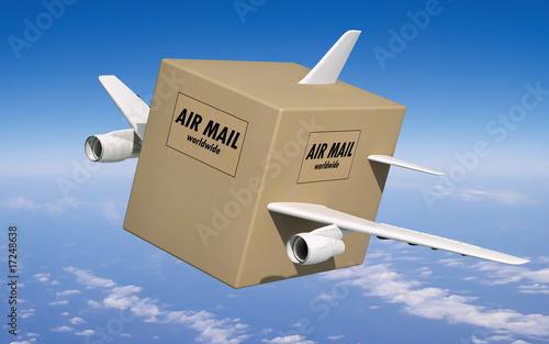 luftpost freisteller - 17248638