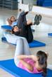 Abdominals gym class