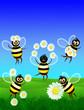 roleta: Gioco da Api-Bee Game-Jeu d'Abeilles