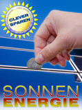 sonnenenergie clever sparen photovoltaic solarthermie poster