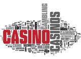 Casino and Gambling word cloud poster