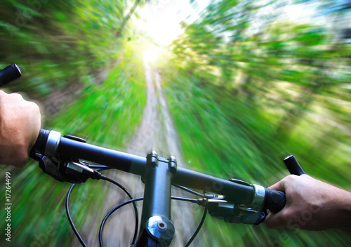 Speed on Mountain bike