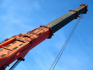 Crane with Extensions