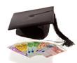Doktorhut und Euro. Bildungskosten in Europa.