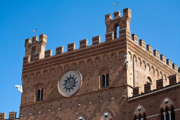 Piazza del Campo Siena Toskana Italien