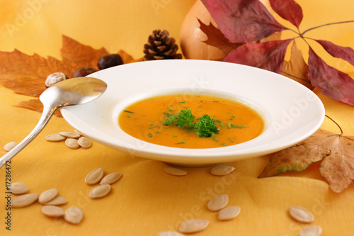 Kürbis Suppe