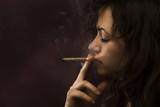 Marijuana smoke poster