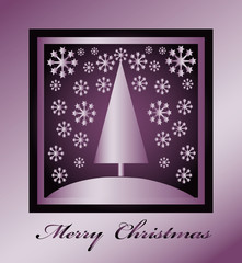 Merry Christmas card, poster, background, label