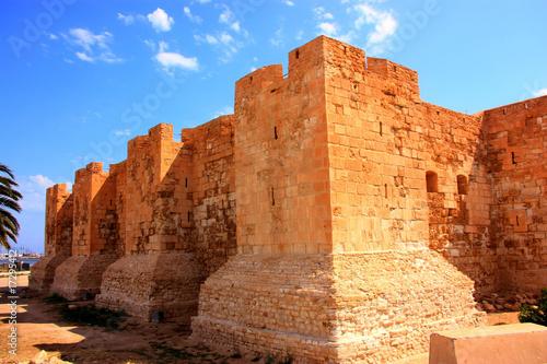 Fotobehang Tunesië fort de Djerba