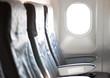 airplane sits