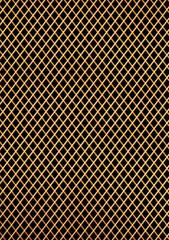 ゴールドの金網