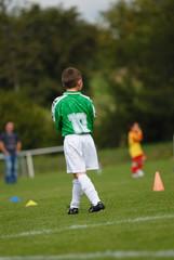 jeune joueur de foot