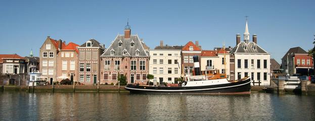 Dutch Town of Maassluis